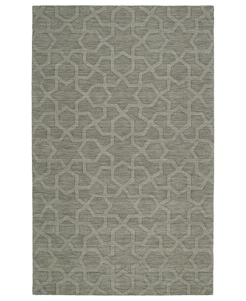 "Kaleen Imprints Modern IPM06-75 Gray 9'6"" x 13'6"" Area Rug"