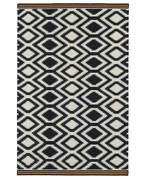 Kaleen Nomad NOM04-02 Black 9' x 12' Area Rug