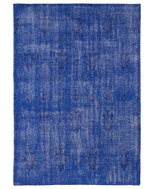 Kaleen Restoration RES01-17 Blue 2' x 3' Area Rug