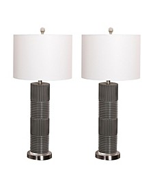 Kana Glass Table Lamp, Set of 2