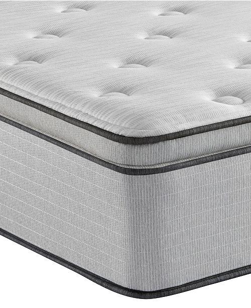 """Beautyrest BR800 13.5"""" Medium Pillow Top Mattress- King"""