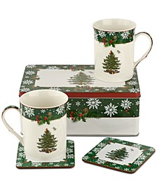 Christmas Tree 2019 Annual 5-Pc. Tin Set