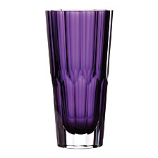 "Waterford Jeff Leatham Icon 10"" Amethyst Vase"
