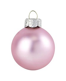 "2"" Glass Christmas Ornaments - Box of 28"