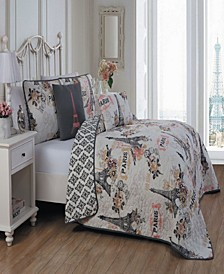 Cherie 4 Pc Twin Quilt Set
