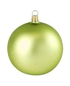 "2.75"" Glass Christmas Ornaments - Box of 12"