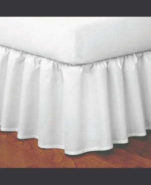 Magic Skirt Ruffled Queen Bed Skirt Bedding