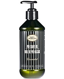 The Unscented Pre-Shave Oil, 8.1-oz.