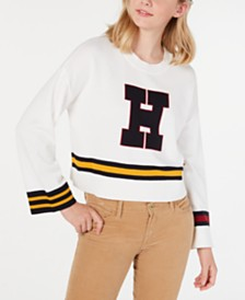 Tommy Hilfiger Varsity Sweater, Created for Macy's