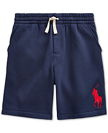Polo Ralph Lauren Big Boys Fleece Shorts, Created For Macy's