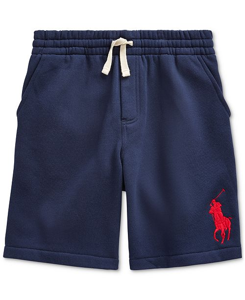 Polo Ralph Lauren Big Boys Fleece Shorts, Created For Macy's