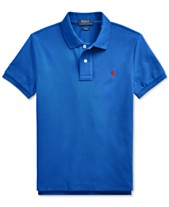 748c95f6d Polo Ralph Lauren Big Boys Basic Mesh Knit Polo Shirt