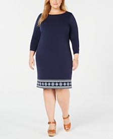 Michael Michael Kors Plus Size Casablanca Dress
