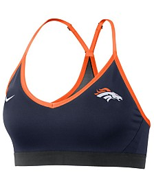 Nike Women's Denver Broncos Dri-FIT Racerback Bra