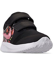 Toddler Girls' Star Runner 2 Vintage Floral Casual Athletic Sneakers from Finish Line