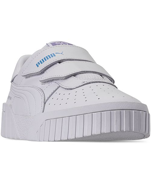 Puma Women's Cali Velcro Casual Sneakers from Finish Line ...