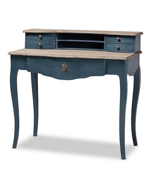 Furniture Celestine Desk, Quick Ship