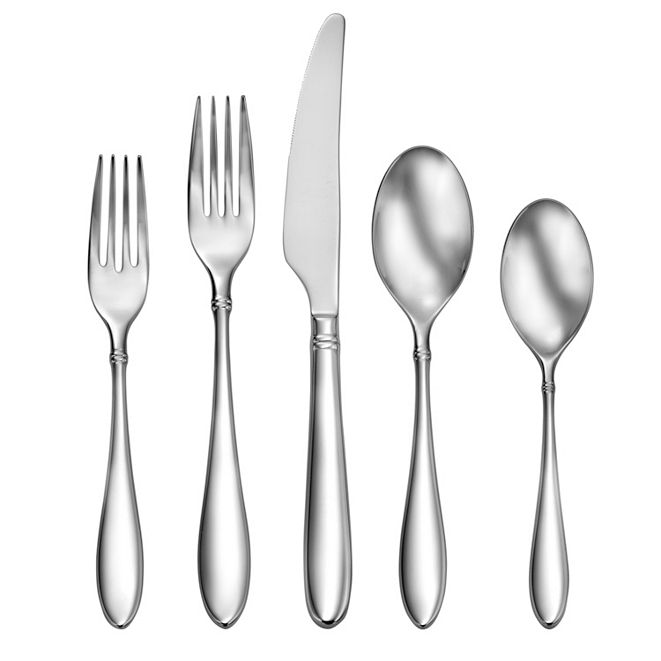Craft Kitchen Arlo 20-PC Flatware Set, Service for 4