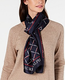 Edith Silk Oblong Scarf