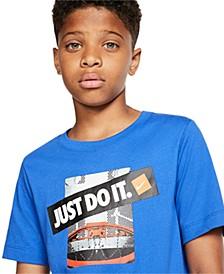 Big Boys Dri-FIT Just Do It Backboard Graphic T-Shirt