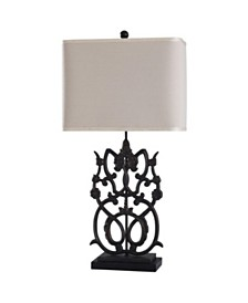 Stylecraft Saugus Bronze 32in Cast Iron Body Traditional Table Lamp