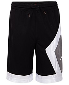 Big Boys Blocked Diamond Shorts