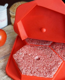 Burger Master Max 4 In 1 Burger Press And Freezer Container