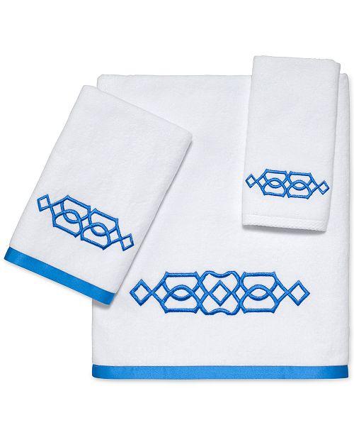 Avanti CLOSEOUT! Geo Bath Towel Collection