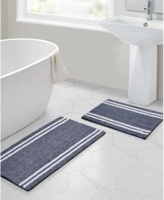 Stripe Noodle 2-Pc. Bath Rug Set