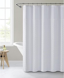"VCNY Home Clipped 72"" x 72"" Shower Curtain"