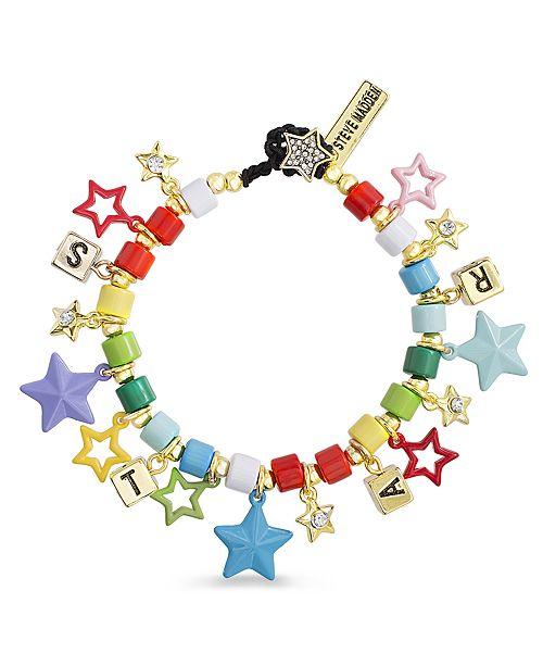 Steve Madden Women's Multi-Colored Star Bracelet