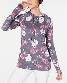 Floral-Print Lace-Up Hoodie, Created for Macy's