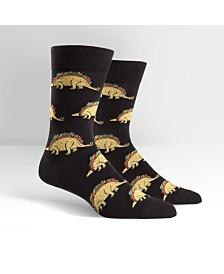 Sock It To Me Men's Tacosaurus Socks