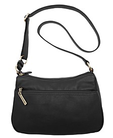 Nappa Leather Double Entry Hobo, Created for Macy's