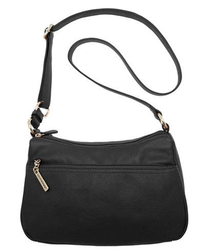 Giani Bernini Nappa Leather Double Entry Hobo, Created for Macy's ...