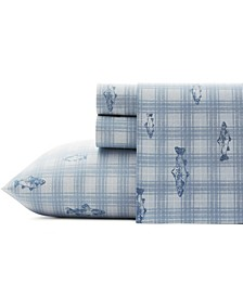 Methow Plaid Sheet Set, King