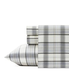 Chinook Plaid Sheet Set, King