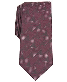 Alfani Men's Slim Abstract Tie, Created for Macy's