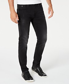GUESS Men's Slim-Fit Black Jeans