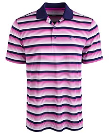 Men's Roadmap Stripe Polo Shirt