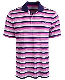 Attack Life by Greg Norman Men's Roadmap Stripe Polo Shirt