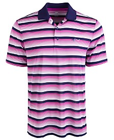 Attack Life by Greg Norman Men's Roadmap Stripe Polo Shirt