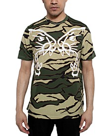 Men's Tiger Camouflage Graphic T-Shirt
