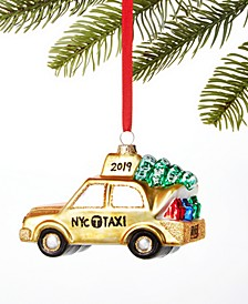 New York Yellow Taxi Ornament Created For Macy's