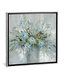 "Blue Bouquet Iii by Carol Robinson Gallery-Wrapped Canvas Print - 26"" x 26"" x 0.75"""