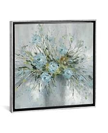 "iCanvas Blue Bouquet Iii by Carol Robinson Gallery-Wrapped Canvas Print - 26"" x 26"" x 0.75"""