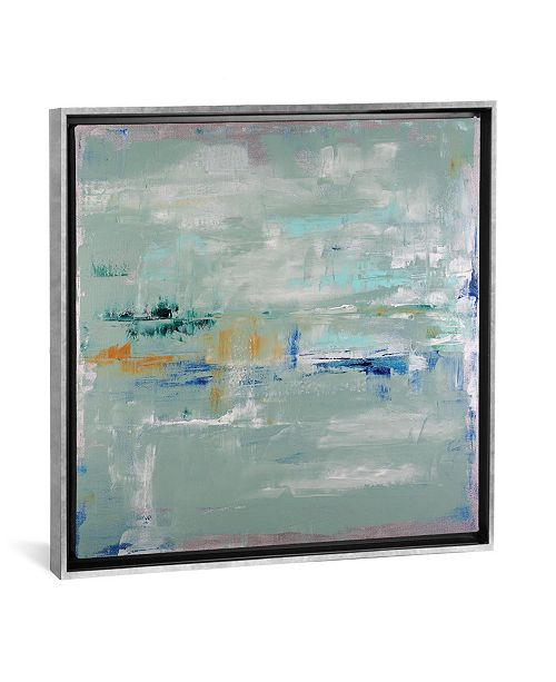"""iCanvas Daydream in Silver by Shalimar Legaspi Gallery-Wrapped Canvas Print - 37"""" x 37"""" x 0.75"""""""