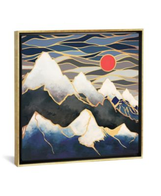 Ice Mountains by Spacefrog Designs Gallery-Wrapped Canvas Print - 18
