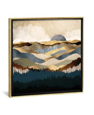 "Golden Vista by Spacefrog Designs Gallery-Wrapped Canvas Print - 37"" x 37"" x 0.75"""