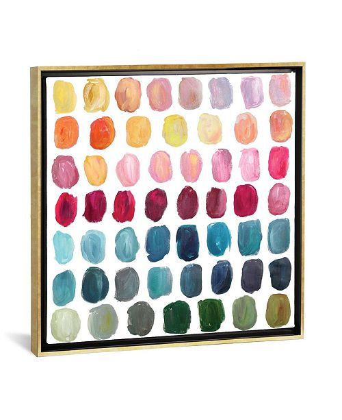 """iCanvas Color Palette by Stephanie Corfee Gallery-Wrapped Canvas Print - 18"""" x 18"""" x 0.75"""""""